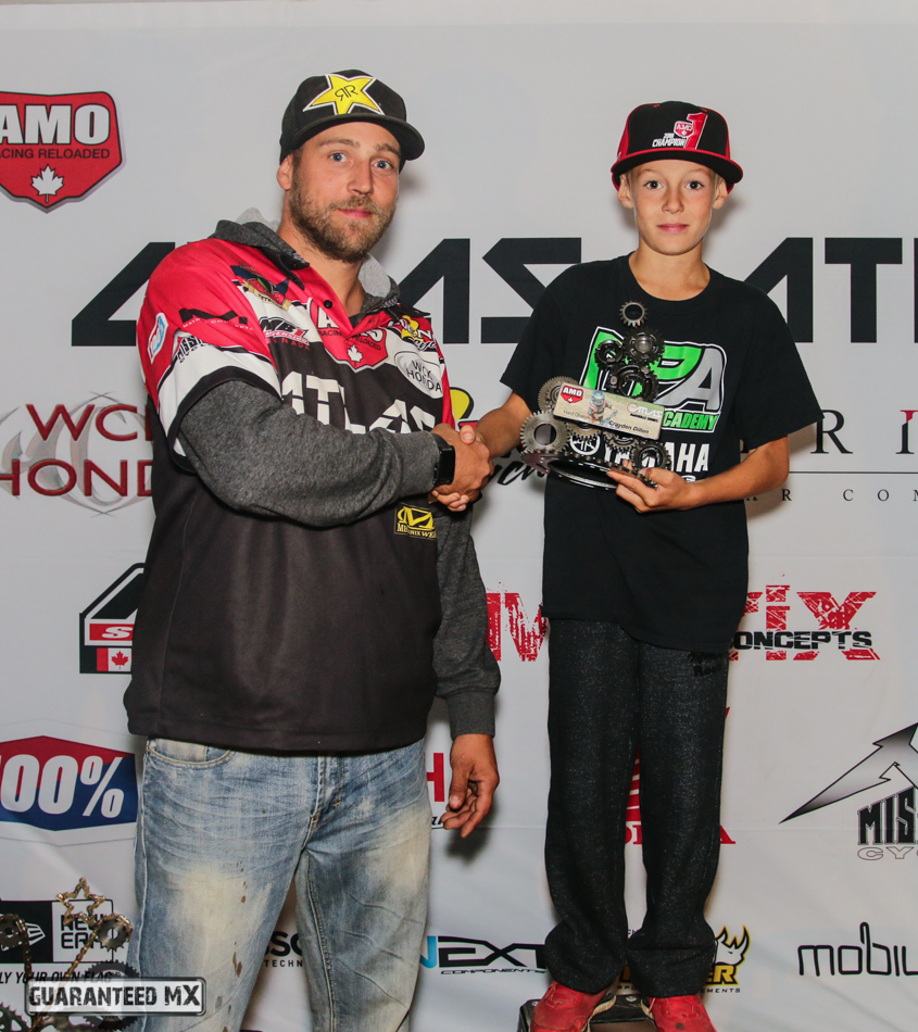 AMO Hard Charger Award – Crayden Dillon