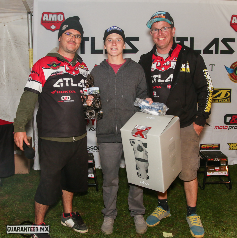 AMO Rider of the Year Award Sposnored by Mobius Braces, MB1 Canada, and GPF Winner – Sam Gaynor